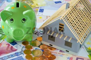 Für den Bau eines eigenen Hauses sparen