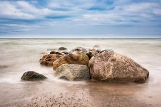An der Küste der Ostsee