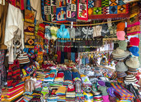 Traditional Market in Peru