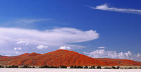 dunes in the Namib-desert