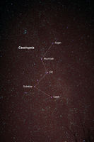 Astro Photo: Starfield with Cassiopeia and Milky W