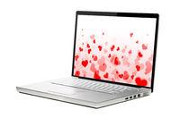 lovely modern laptop