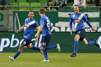 Ferencvaros - MTK Budapest OTP Bank League football match