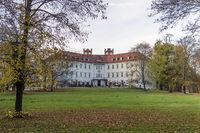 the castle Lübbenau, today Hotel