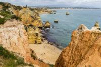 Rock Algarve west of Lagos
