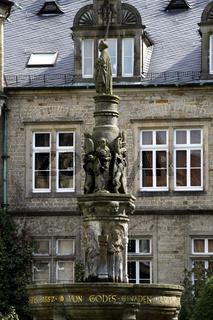 Bückeburg Schloss Brunnen
