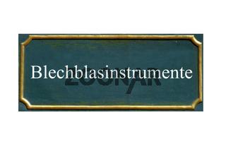 schild blechblasinstrumente