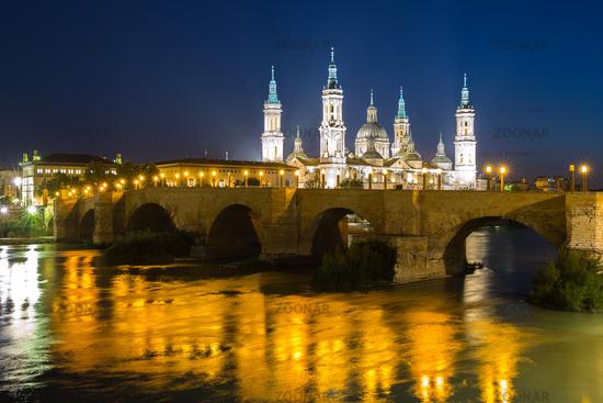 Our Lady of the Pillar Basilica Zaragoza