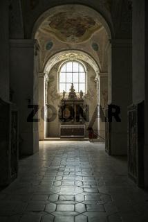 Seitenaltar in der Klosterkirche St. Emmeram in Regensburg