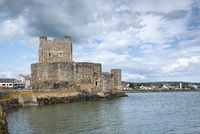Norman castle Carrickfergus Castle near Belfast