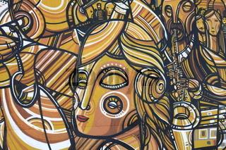 Kuenstlerisches Graffiti