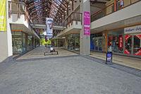 Luxus-Einkaufszentrum auf der künstlichen Luxus-Insel Eden Isla