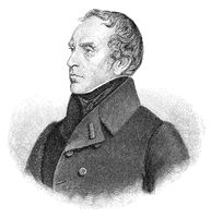Francois Pierre Guillaume Guizot, 1787 - 1874, a French historian