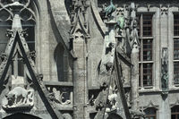 Munich City Hall Detail