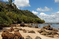 Praia da Argila at Morro de Sao Paulo