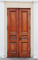 Handmade Wooden Double Door