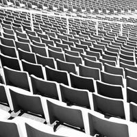 Rhythm of stadium seats