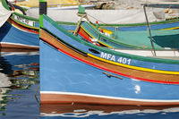 Fishing Boats, Gozo, Malta