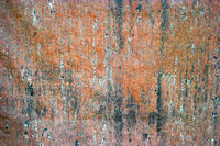 Old rusty sheel of iron, abstract metal background