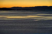 Sonnenuntergang am Genfersee bei Vevey