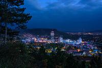 View from Landgrafen on Jena