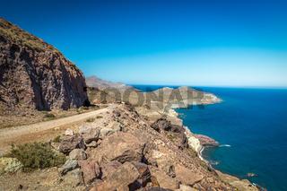 Coast at Cabo del Gata, Almeria, Spain
