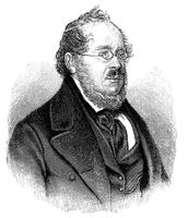 Georg Friedrich List, 1789-1846, a leading 19th-century German-American economist