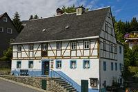 Denkmalgeschütztes sächsisches Fachwerkhaus