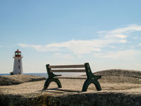 Bench at Peggy´s Cove