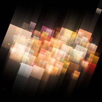 Abstract square background design illustration
