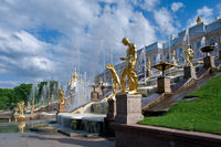 Grand cascade .Peterhof Palace