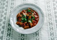Hungarian beef stew