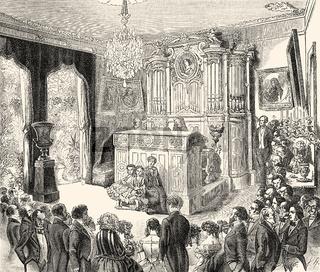 Salon of Mme Viardot, 1821-1910, a French mezzo-soprano