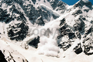 Avalanche close-up