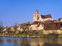 Dole Kirche - Dole church in France