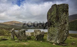 Der Steinkreis von Uragh im Gleninchaquin Park