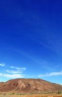 andscape in the region Brandberg, Namibia