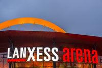 Lanxess Arena, Köln-Deutz, Köln, Nordrhein-Westfalen, Deutschland, Europa