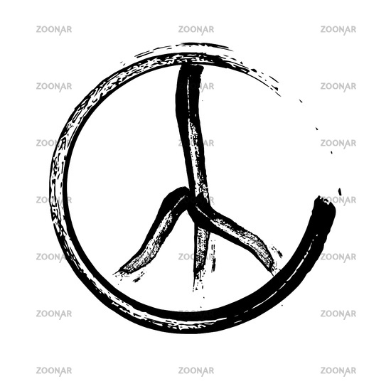 Photo peace symbol icon vector friendship pacifism Image