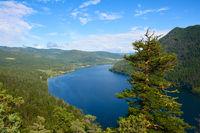 Blick auf den Paul Lake