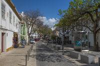Rua Silva Lopes in the historic center of Lagos