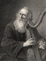 The harper Augustin, Wilhelm Meister's Apprenticeship by Johann Wolfgang von Goethe