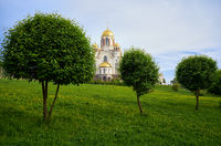 Church on Blood in Honour of All Saints Resplendent in the Russian Land on the hill of Ascension, Yekaterinburg