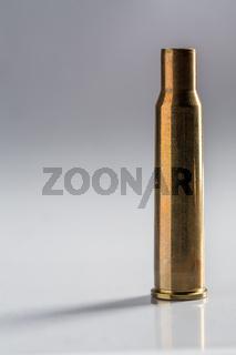 Shoot empty gun shell