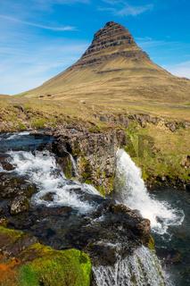 Der Kirkjufell in Island