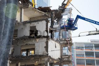 Abriss des Bundesrechnungshofs, Frankfurt