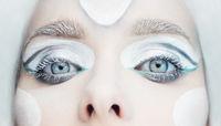 frozen eyes  makeup