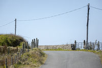 typical road in Ireland