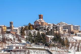 Small italian town.