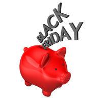 Piggy Bank Black Friday